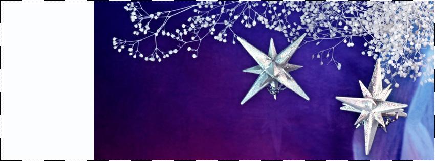 новогодняя обложка на фейсбук
