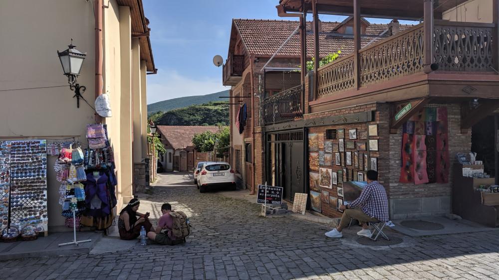 Улочки г.Мцхета — древней столицы Грузии.
