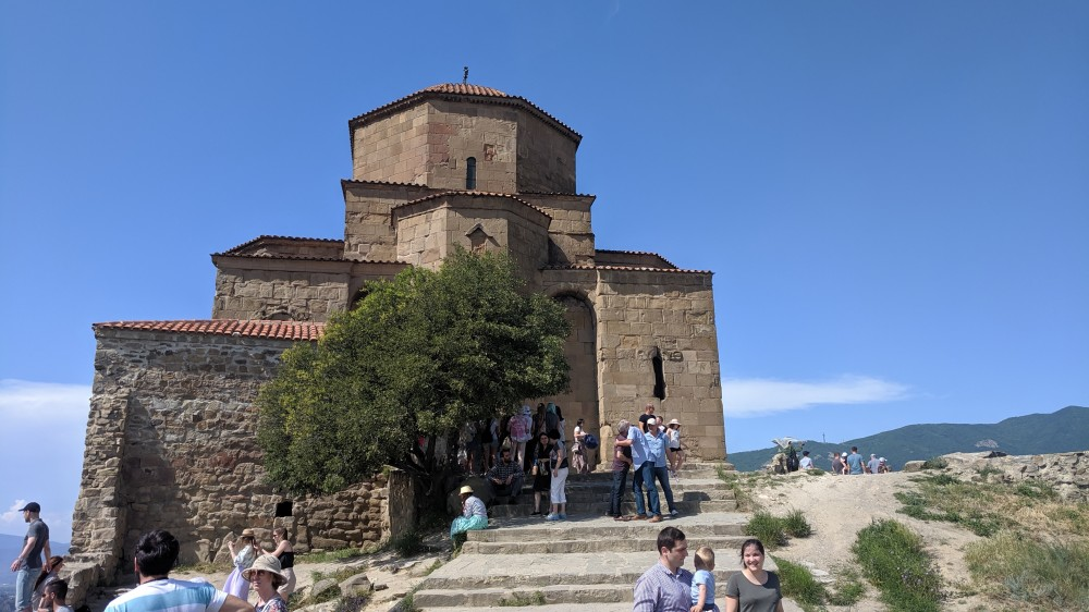 Древний монастырь Джвари VII в.