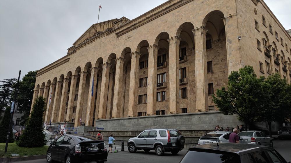Здание парламента Грузии.