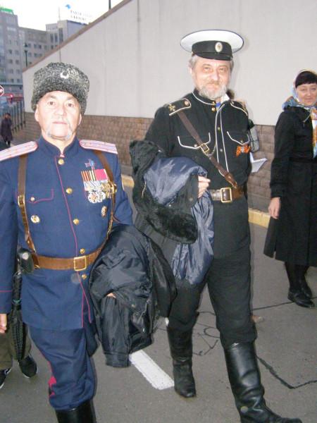 Казаки в Киеве уже диковинка