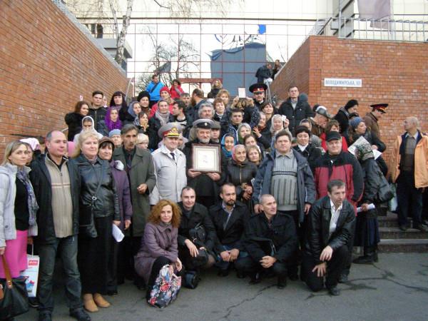 фото с группой харьковчан