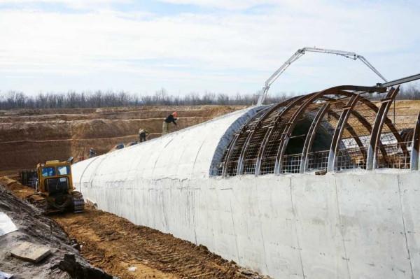 В Ростовской области строится новая угольная шахта.