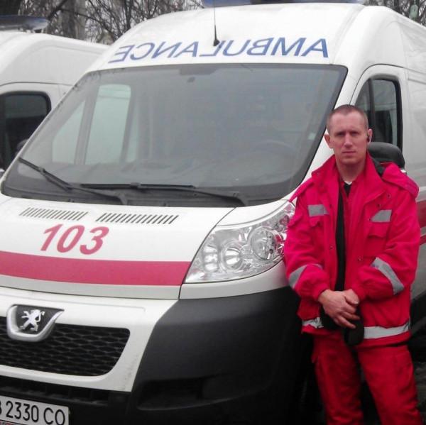 Луганск лета 2014 года глазами водителя скорой помощи.