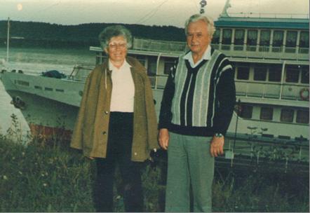 Мои родители в одной из экспедиций по Дальнему Востоку