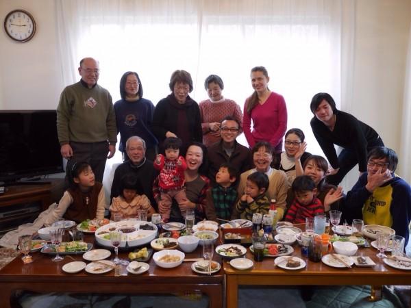 День, когда мы готовили японское новогоднее угощение Кагами-моти.