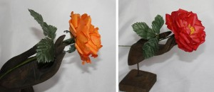 коллаж розы