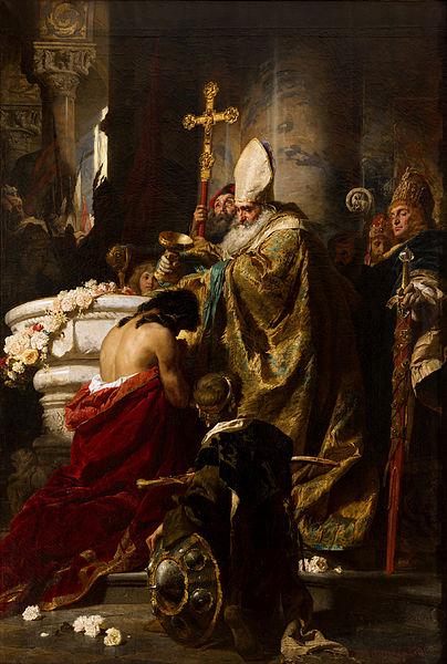 Benczúr,_Gyula_-_The_Baptism_of_Vajk