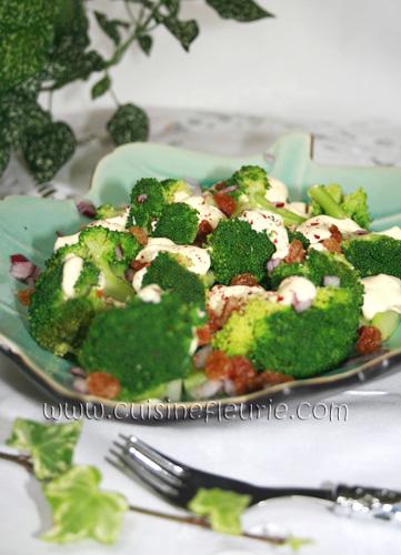 Salat brokkoli