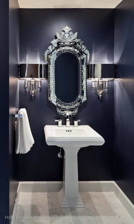 navy-blue-powder-room