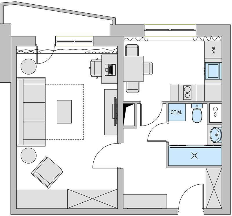 D' is silent... проект 1 комнатной квартиры п44т: форум о ди.