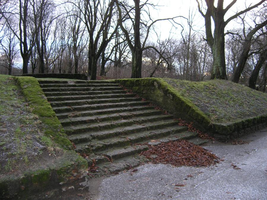 лестница в Южном парке