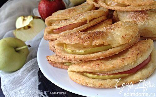 песочное печенье рецепт с фото с яблоками