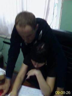 Deputy chief investigator Boris Chudnovski at work. Dorogomilovskaya Prokuratura. Kutuzovski prospect, Moscow.