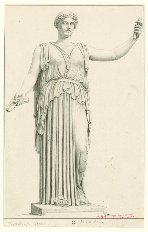 [Demeter standing.] (1872-1887)