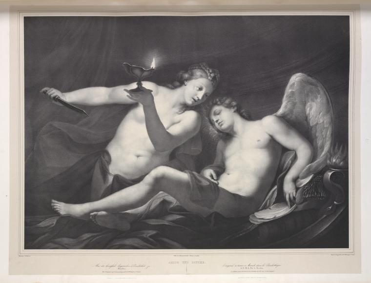 Amor und Psyche.  [Cupid and Psyche.] ([1837-1842])