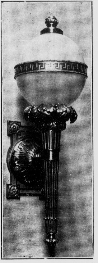 Los Angeles Herald, Volume 37, Number 135, 13 February 1910 — THE EVOLUTION OF THE LAMP  p 4