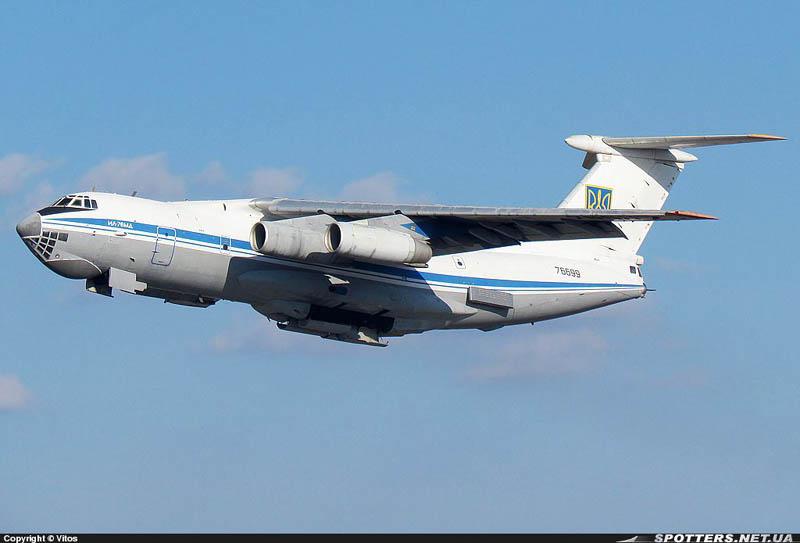 IL-76 N76699-002a