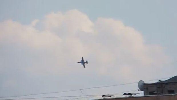 Su-25 nad Kramatorskom 15 apr
