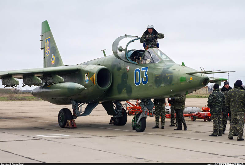 Su-25 N03-002