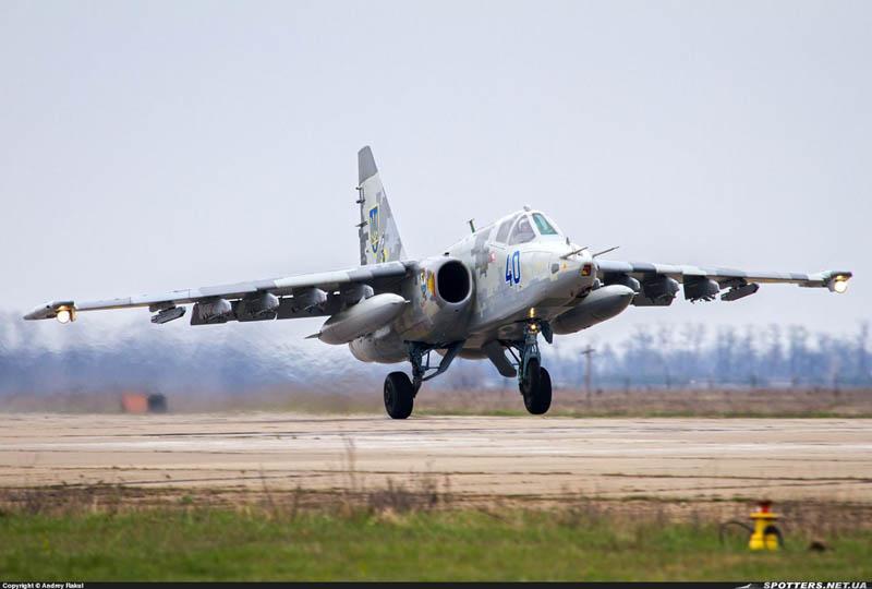 Su-25 N40-001