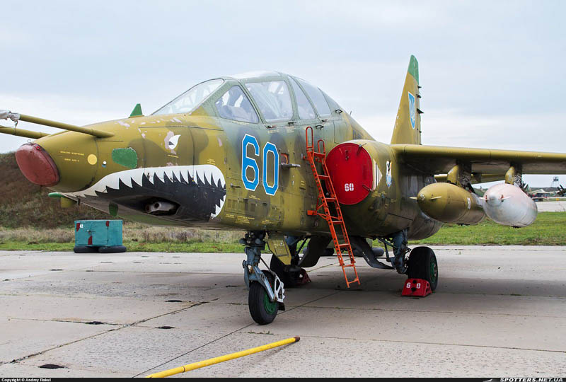 Su-25UB N60-004