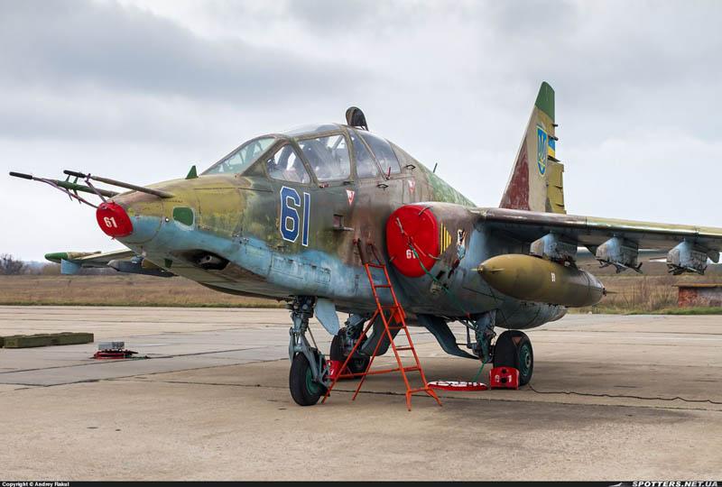 Su-25UB N61-001