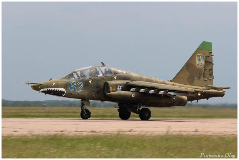 Su-25UB N62-014