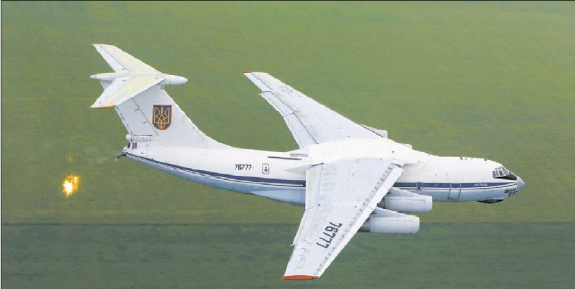 IL-76 N76777-007
