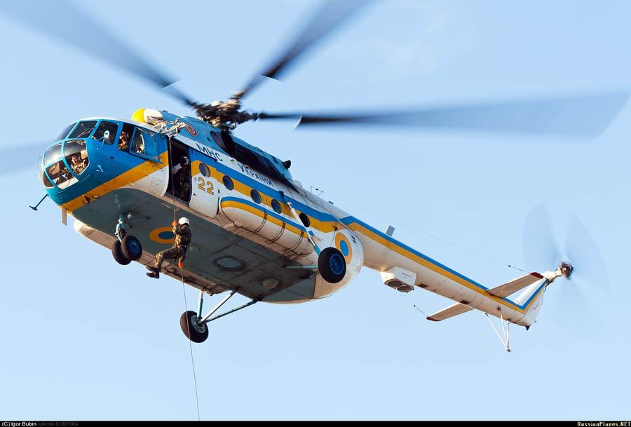 Mi-8 GSChS N22 yellow-001