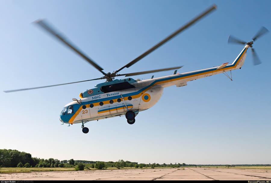 Mi-8 GSChS N23 yellow-001