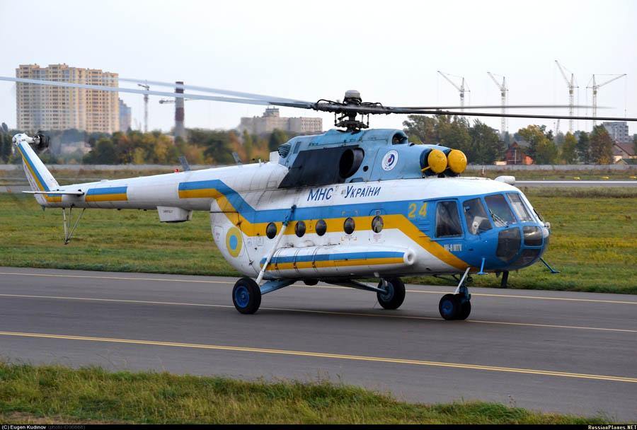 Mi-8 GSChS N24 yellow-001