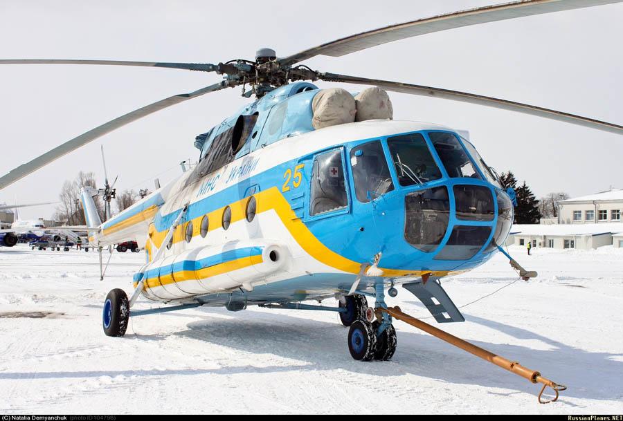 Mi-8 GSChS N25 yellow-002