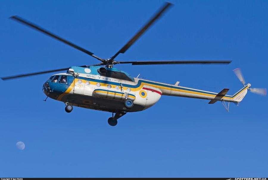 Mi-8 GSChS N28 yellow-002