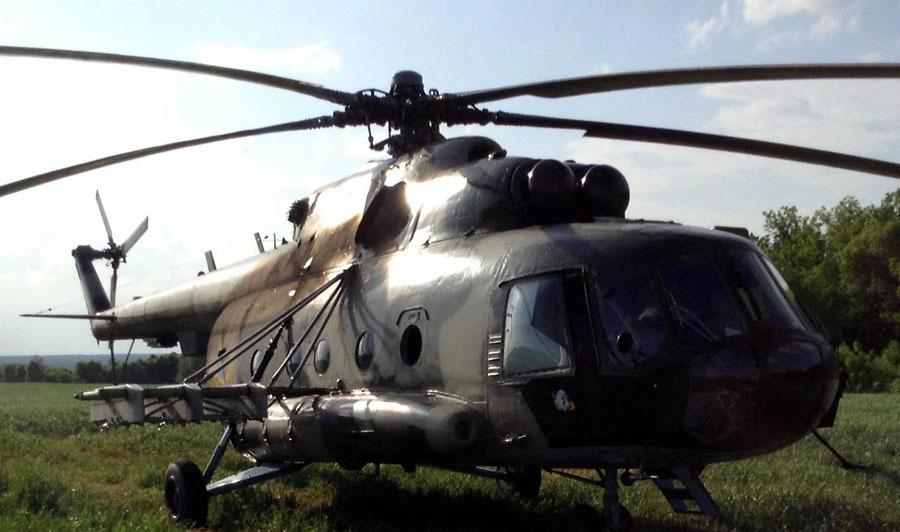 Mi-8 N16 yellow-033