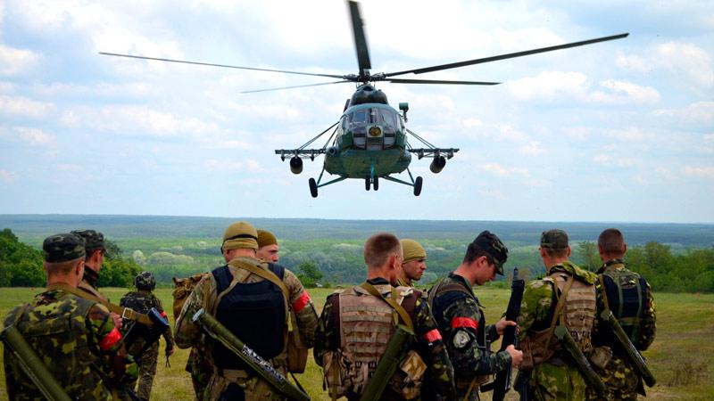 Mi-8 on East-064