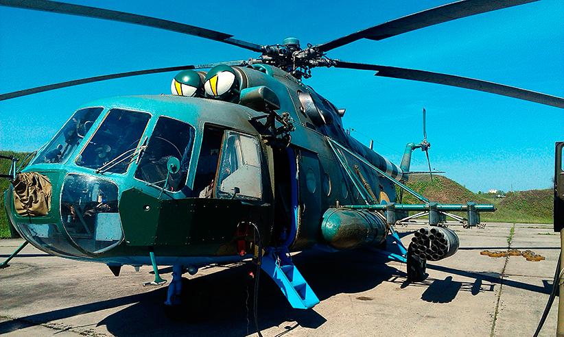 Mi-8 N41 yellow Green-Brown camo-007