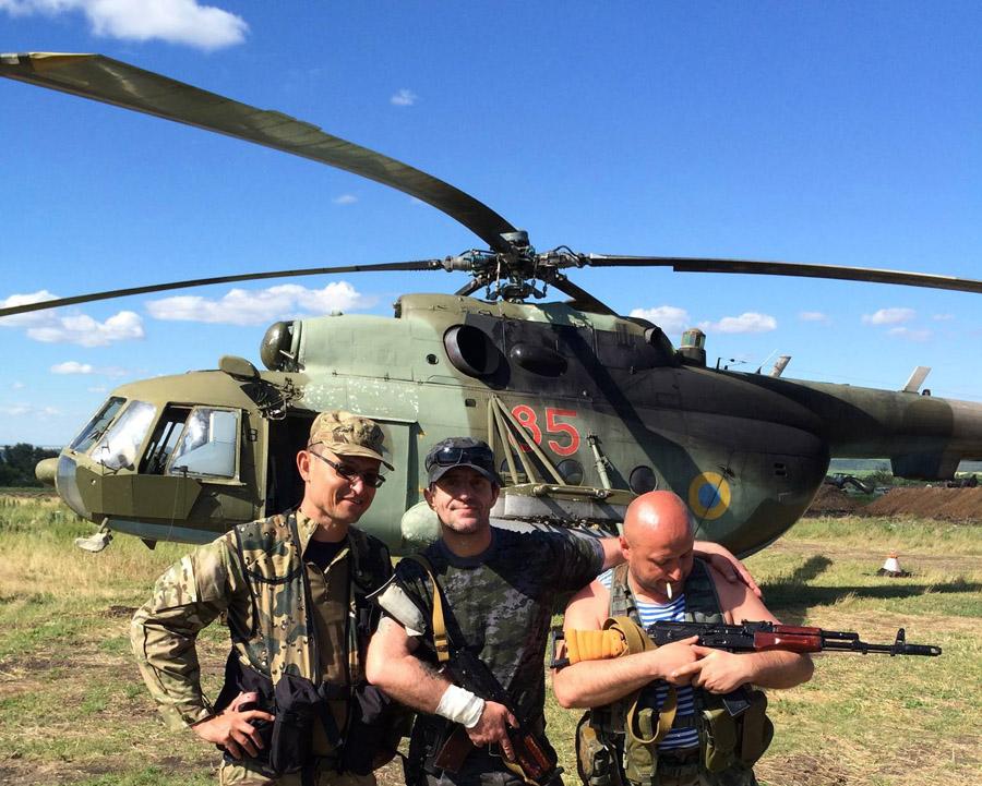 Mi-8 N85 red in war-005