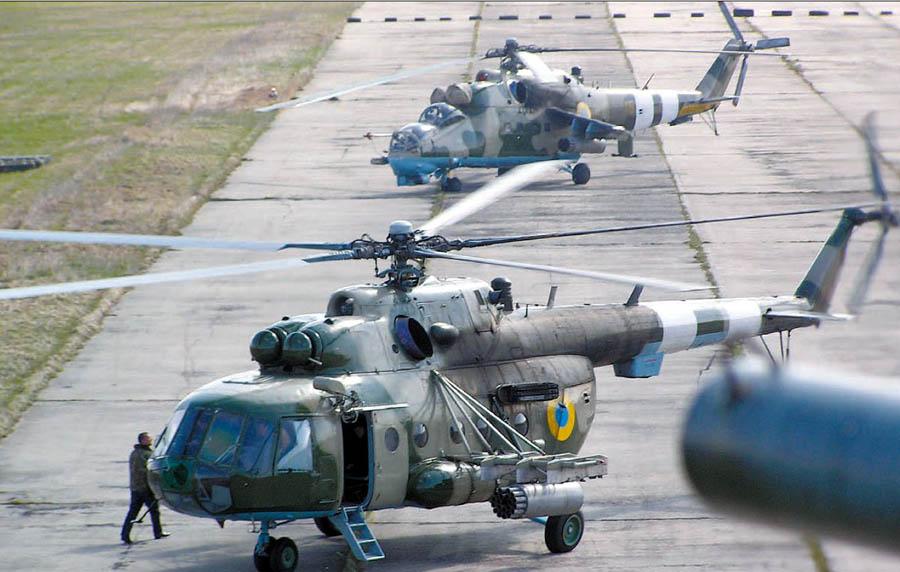 Mi-8 N48 yellow in war-008