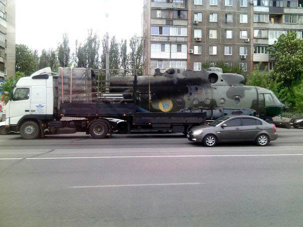 Mi-8 N61 yellow in war-008