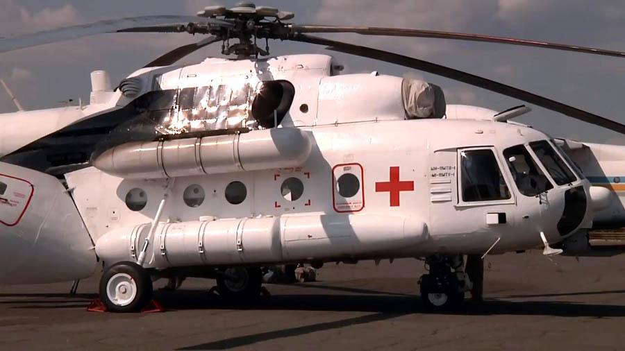 Mi-8 UR-HLT-001