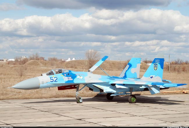 UkrAF Su-27-N52-003