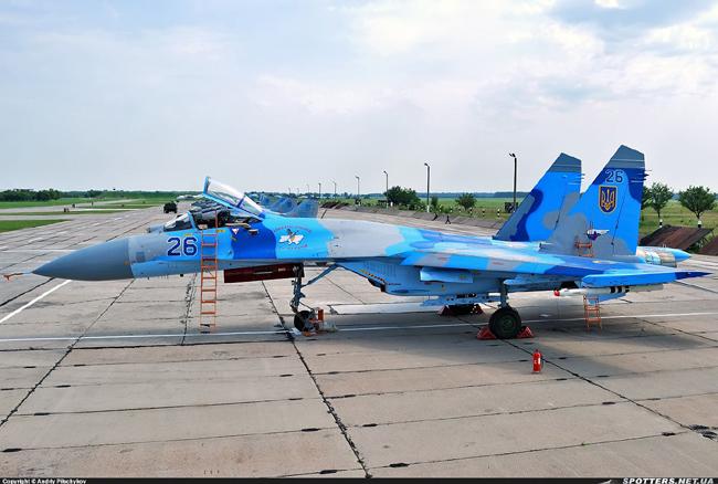 UkrAF Su-27-N26-006