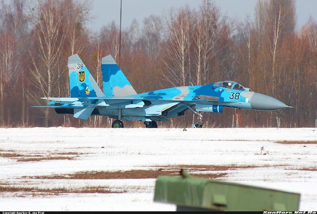 UkrAF Su-27-N38-001