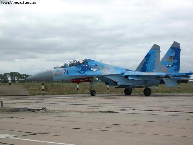 UkrAF Su-27-N71-001