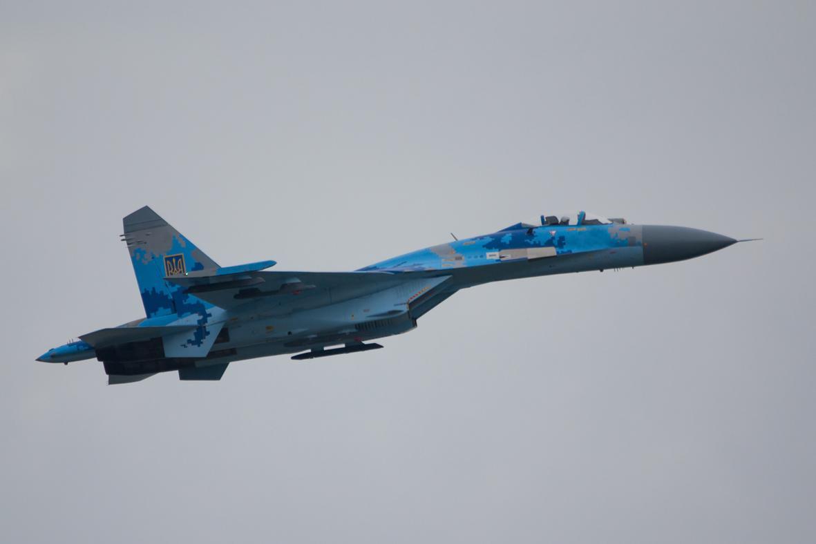 UkrAF Su-27-NXX-001