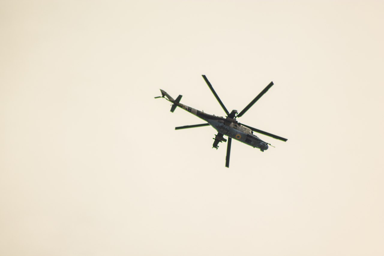 Mi-24 over Slavyansk