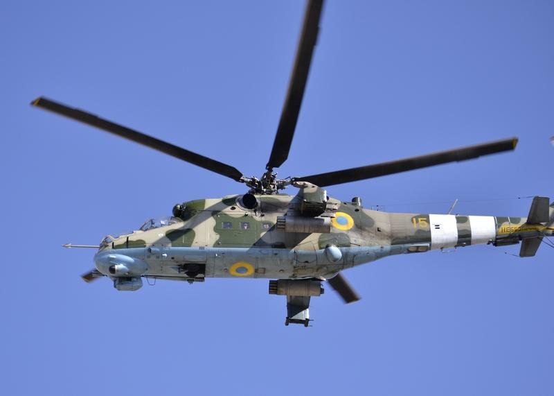Mi-24P with white