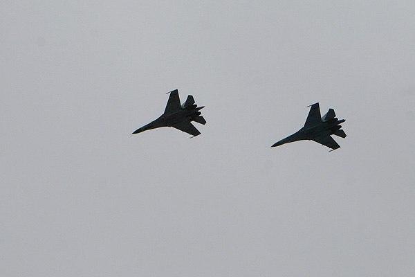 UkrAF Su-27 - Over East-011
