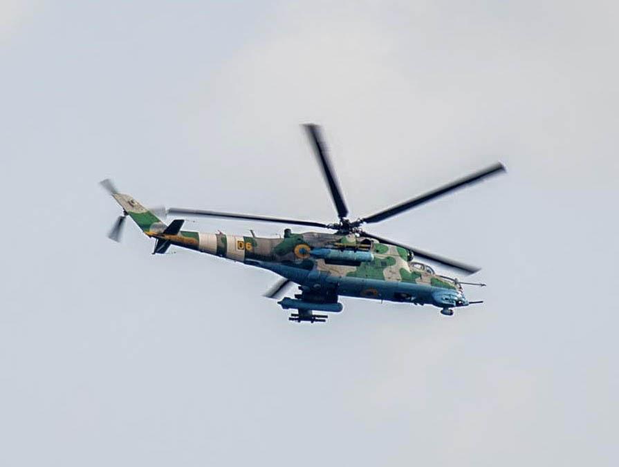 UkrAF Mi-24 N06-001